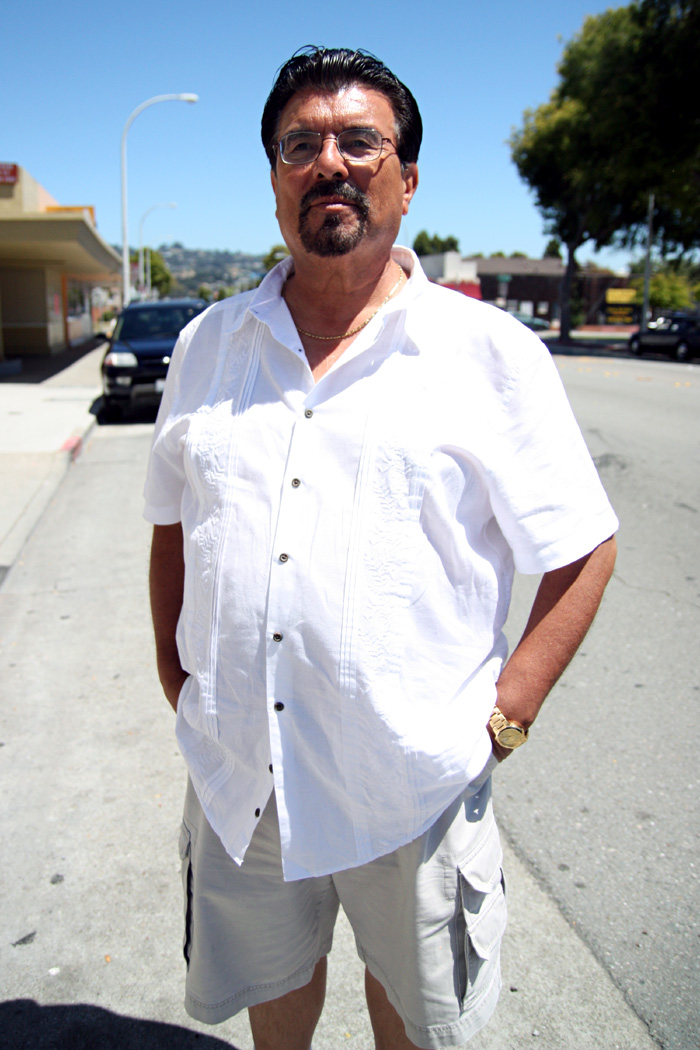 Community organizer Jorge Lerma in Richmond, CA in July 2011. THE RATION/Felix Irmer