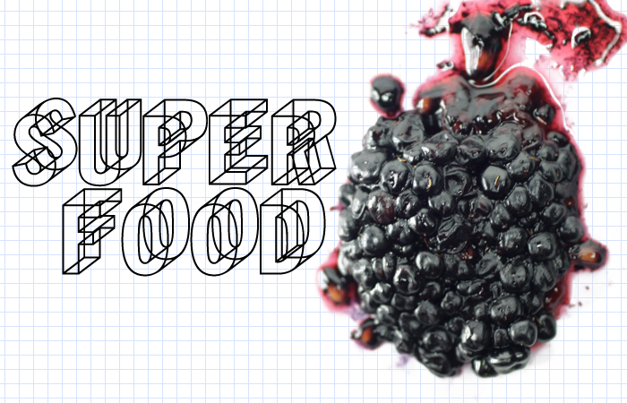 A superfood illustration by Richard Koci Hernandez