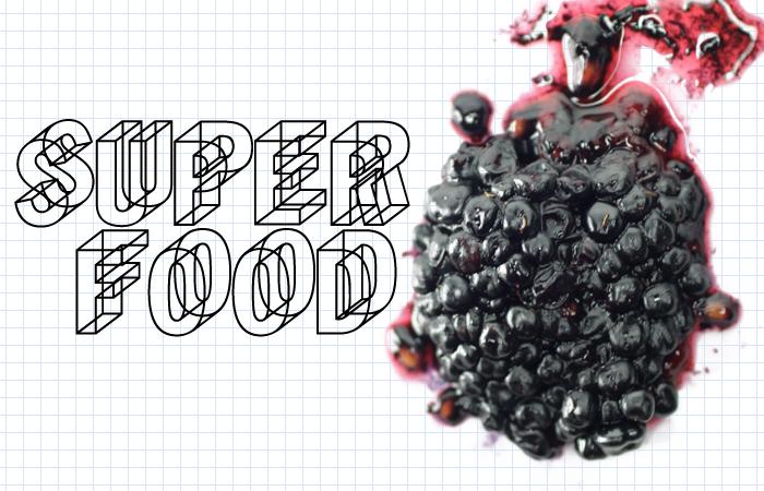 A superfood illustration by Richard Koci Hernandez