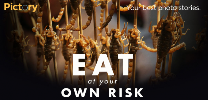 Pictory Theme: Eat at Your Own Risk